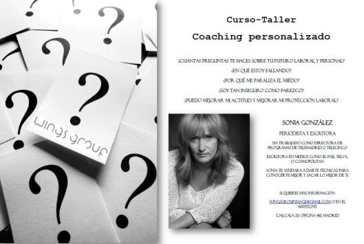 Curso Taller Coaching personalizado